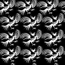 Free Seamless Dragon-bird Pattern Stock Photo - 8003830