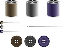 Free Sewing Kit Stock Photo - 8003860