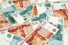 Free The Russian Bank Notes, Roubles; Background Royalty Free Stock Images - 8004119