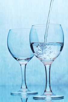 Free Glass Of Water Royalty Free Stock Image - 8004386