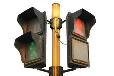 Free Traffic Light Royalty Free Stock Photo - 8004515