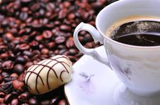Free Coffee Cup Royalty Free Stock Photos - 8004598