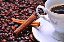 Free Coffee Cup Royalty Free Stock Photography - 8004627