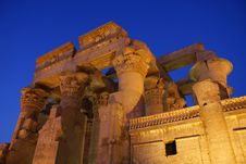 Free Temple Of Kom Ombo Royalty Free Stock Photos - 8005008
