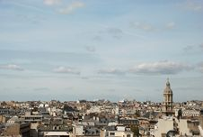 Free Unusual View Over Paris Royalty Free Stock Photo - 8005165