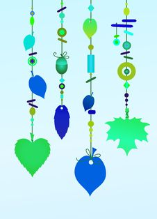 Free Decorative Wind Chimes Royalty Free Stock Image - 8005386
