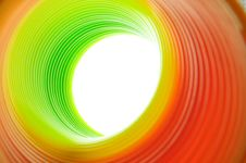 Free Bent Color Tunel Royalty Free Stock Photo - 8005545