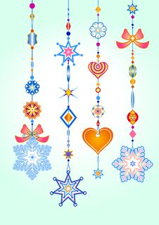 Free Decorative Wind Chimes Royalty Free Stock Photography - 8005577