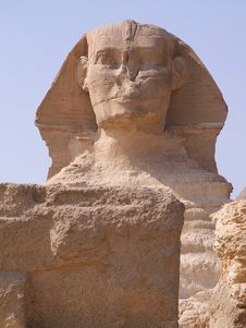 Free The Sphinx Royalty Free Stock Photography - 8005597