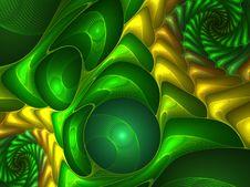 Free Abstract Futuristic Illustration Royalty Free Stock Photos - 8006428