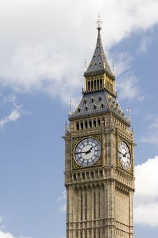 Free Big Ben 2 Royalty Free Stock Images - 8007049