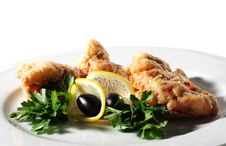 Free Seafood - Deep-Fried Shrimp Stock Photo - 8007510