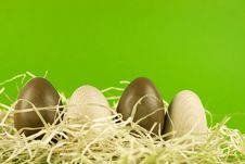 Free Easter Eggs Royalty Free Stock Photo - 8007825
