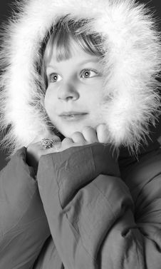 Free Girl On Winter Vacation Stock Photo - 8007950