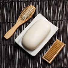 Free Soap Display Royalty Free Stock Images - 8008199