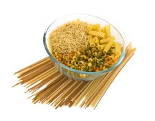 Colorful Noodles Royalty Free Stock Photos