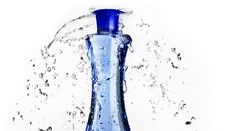 Free Blue Bottle Splash Stock Photos - 8008583