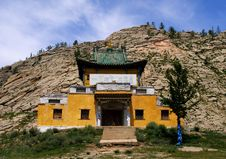 Free Mongolia Buddhist Temple Royalty Free Stock Photography - 8008947