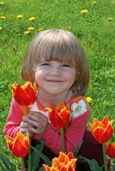 Free Portrait Of Beautiful Girl Stock Photo - 8009290