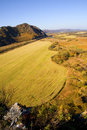 Free Autumn Gold Landscape Royalty Free Stock Photos - 8010708