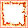 Free Fiery Frame Royalty Free Stock Photo - 8017155