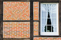 Free Window In Wall Of Bricks Royalty Free Stock Image - 8018386