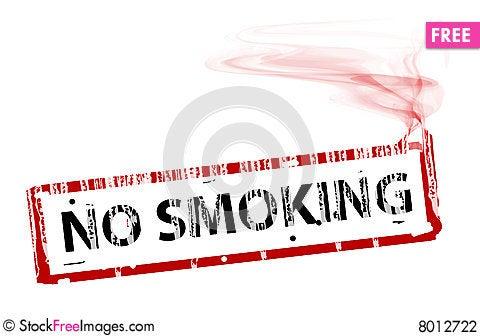 Cigarrete Cartoon Illustration