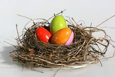 Free Easter Eggs Royalty Free Stock Image - 8010666