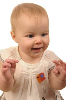 Free Baby Girl Royalty Free Stock Photography - 8011087