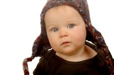 Free Baby Girl Stock Photography - 8011092