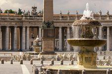 Free Vatican Fountain Stock Photo - 8011290