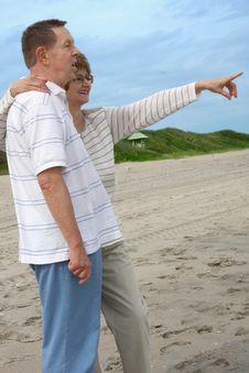 Free Romantic Mature Couple Stock Photos - 8011373