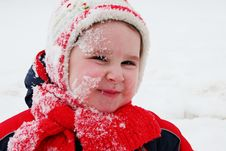 Free Winter Girl Stock Photography - 8011512