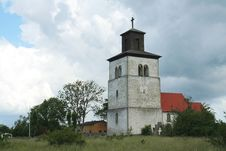 Free Church Gotland Royalty Free Stock Photography - 8011557