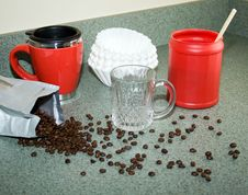 Free Home Brewed Coffee Stock Photos - 8011673