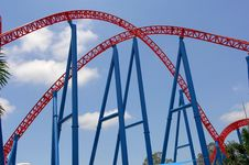 Free Roller Coaster Ride Royalty Free Stock Image - 8011736