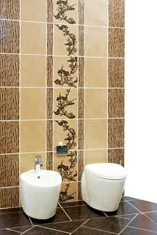 Free Brown Toilet Stock Photo - 8011930
