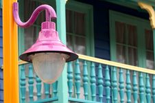 Free Outdoor Lantern Royalty Free Stock Photo - 8012005
