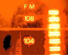 Free Radio Grunge Royalty Free Stock Photo - 8012655