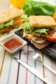 Free Pork Sandwich Stock Images - 8012724