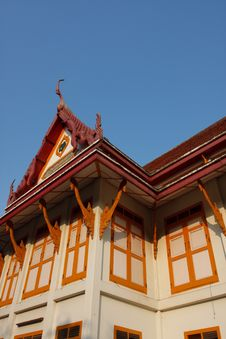 Thai Library In Ancient Temple Royalty Free Stock Photo