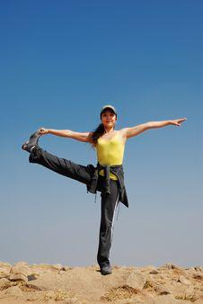 Free Yoga Royalty Free Stock Photos - 8013818