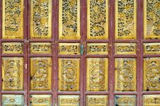 Free Wooden Door In Old Style Stock Photos - 8014773