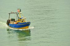 Free Fishing Boat Royalty Free Stock Images - 8014819