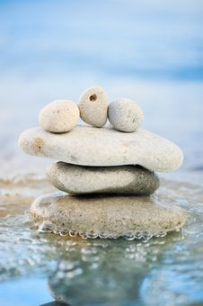 Free The Quiet Sea Stock Image - 8015021
