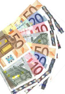 Different Euro Range Stock Photos