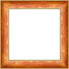 Free Gold Frame Royalty Free Stock Image - 8015426