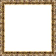 Free Gold Frame Royalty Free Stock Photos - 8015458