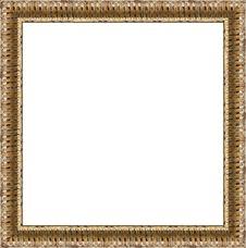 Free Gold Frame Royalty Free Stock Photos - 8015458