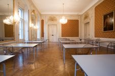 Free Empty Classroom In The Castle Royalty Free Stock Photo - 8016225
